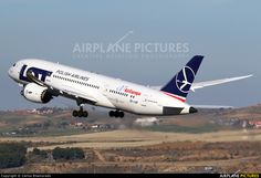 LOT Polish Airlines Boeing 787-8 Dreamliner operating on behalf of Air Europa during that airline's 787 delivery delays and fleet problems