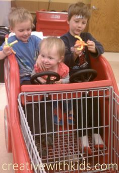 13 tips for making grocery shopping with kids fun.