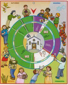 calendario liturgico per bambini - Cerca con Google
