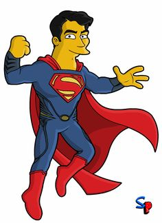 Henry Cavill Man Of Steel Movie Superman DC+Marvel+Mas+Simpson Taringa Descargas Gratis Henry Cavill Movies, Superman Henry Cavill, Simpsons Characters, Simpsons Art, Comic Character, Character Design, Marvel Dc, Dc Anime, Superman Man Of Steel