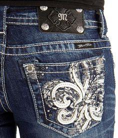 Miss Me Fleur Boot Stretch Jean #buckle #fashion www.buckle.com