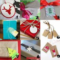 """Link Love: Homemade Gift Tags""""Check out my other pins as guest pinner for @FaveCrafts this month!"""""""