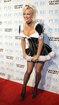 Jennys happy birthday halloween week jenny mccarthy latex and clip in hair ectension by color pmusecretfo Images