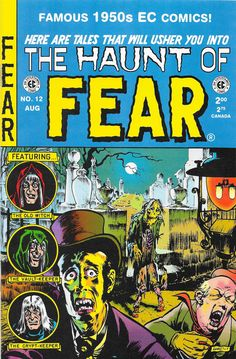 The Haunt of Fear 12 Reprint. Cover and art by Graham Ingels. Originally published by EC Comics in 1952. Reprinted by Russ Cochran in 1995.