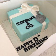 Tiffany and co cake