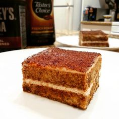 Raw Food Recipes, Healthy Recipes, Healthy Food, Sweet Desserts, Health Diet, Food Inspiration, Tiramisu, Food And Drink, Low Carb