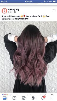 Pretty Hair Color, Hair Color Purple, Hair Dye Colors, Hair Color Balayage, Hair Highlights, Lilac Hair, Pastel Hair, Green Hair, Pastel Pink