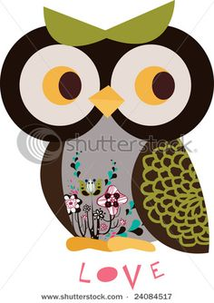 Could make a bunch of different owls out of scrap book paper and decorate a room or write a note on the back