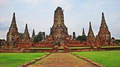 Tailandia es uno de los destinos turísticos más de moda en la actualidad y Bangkok, al puerta al Sudeste Asiático !