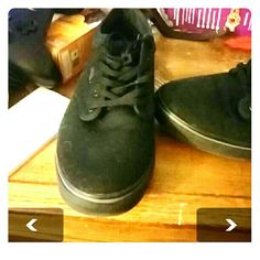 Black Women's Vans Like new. Worn one time and realized they were not for me. Vans Shoes Sneakers