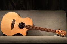 Cole Clark AN2EC Cedar of Lebanon Acoustic Electric Guitar with Case