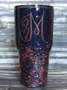 Floral State of Texas Glitter Yeti Tumbler by Kim Larsen Designs. Made with real loose glitter and clear coat sealed for a glass like smooth finish. Vinyl Tumblers, Personalized Tumblers, Custom Tumblers, Custom Mugs, Loose Glitter, Glitter Cups, Rose Gold Glitter, Glitter Tumblers, Kids Tumbler