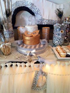 Masquerade Birthday Party Ideas | Photo 2 of 16 | Catch My Party