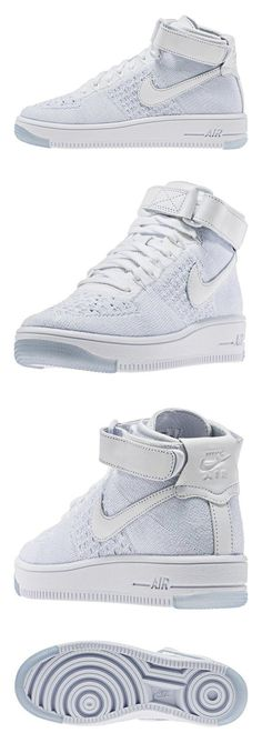 info for 414fd a8543  270.57 - Nike Women Air Force 1 FlyKnit Mid White 818018-100  shoes  nike   2016