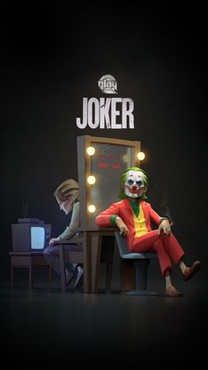 Le Joker Batman, Joker Art, Joker And Harley Quinn, Gotham Batman, Batman Art, Batman Robin, Joker Iphone Wallpaper, Joker Wallpapers, Cartoon Wallpaper