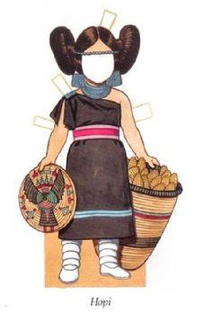 Little Indian Girl HOPI