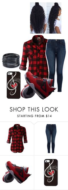 """Untitled #1414"" by lylydenisegaston ❤ liked on Polyvore featuring LE3NO, J Brand, NIKE and ABS by Allen Schwartz"