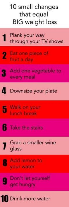 10 easy ways to make weight loss easier