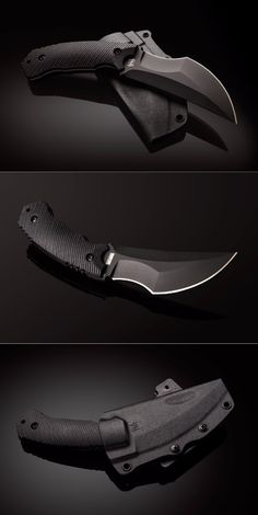 Hardcore Hardware Australia Razorback Fixed Blade Kali Fighting Knife @thistookmymoney