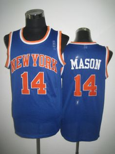 NBA New York Knicks #14 MASON Jersey-blue , shopping online  $16.99 - www.vod158.com
