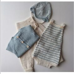 Knitted Baby Clothes, Baby Kids Clothes, Baby & Toddler Clothing, Knitting For Kids, Baby Knitting Patterns, Baby Patterns, Pinterest Baby, Diy Bebe, Baby Kind