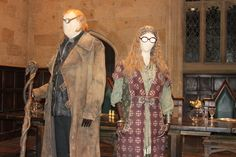 Costume Selection: Moody and Trelawney by Skarkdahn