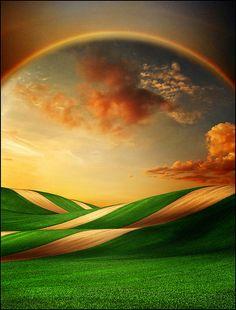 Rainbow gate.
