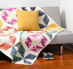It's been almost one year since the first Cotton + Steel fabrics arrived in quilt shops everywhere, and we're showing our favorite quilts featuring them!