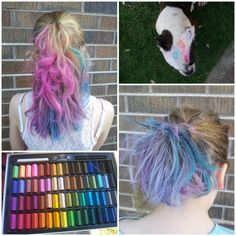 Hair Chalk – Rainbow Hair Without The Dye
