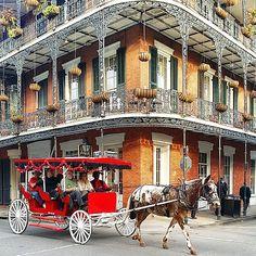 French Quarter, New Orleans. Photo courtesy of martinecooks on Instagram.