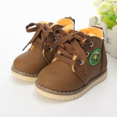 Hello cutie! so perfect for my little boy...2014 New Children's Boots / Warm Boots For Boys And Girls / Kids Plush Hand Stitching Cotton Boots Size 21 26 Free Shipping-in Boots from Mother & Kids on Aliexpress.com   Alibaba Group