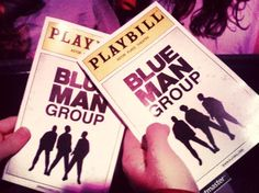 Several years ago in Orlando, Husband, myself and his family saw the Blue Man Group in Orlando. The Blue Men are mysterious, multi-talented, AND hilari… Blue Man Group, Future Travel, Nyc, Positivity, Live, New York