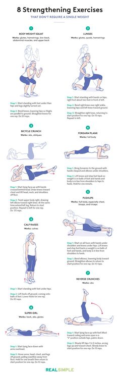 8 strengthening exercises