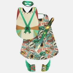 Digitalprint - Superhero boy 3-8years