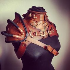 Three piece armor. Thats what i call busy. #leatherlove #armour #leathercraft #leatherarmor