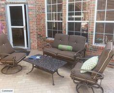Winston Palazzo Deep Seating Collection Enjoy Your Outdoor Room   Yard Art  Patio U0026 Fireplace
