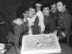 A Happy 81st Bday to Leonard Nimoy! Here's a pic from years past, as we celebrated together.