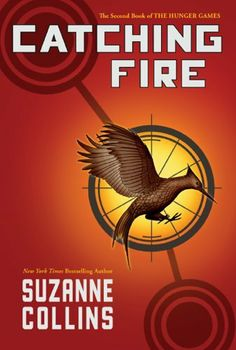 Catching Fire (The Second Book of the Hunger Games) by Suzanne Collins, http://www.amazon.com/dp/B003O86FMW/ref=cm_sw_r_pi_dp_Yw1Upb1HBKW2Q