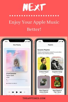 Get the most out of your Apple Music library with the Next app for iOS. Its Magic DJ lets you listen to songs you love with its dynamic playlists. via Music Enjoy Apple Music Better with Next App for iOS Active Listening, Listening To You, Music App, Good Music, Violin Sheet Music, Listen To Song, Most Played, Android Hacks, Music Library