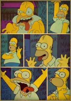Simpson Wallpaper Iphone, Cartoon Wallpaper Iphone, Mood Wallpaper, Simpson Tumblr, Tumblr Drawings Easy, Retro Cartoons, Horror Movie Posters, Easy Rider, The Simpsons