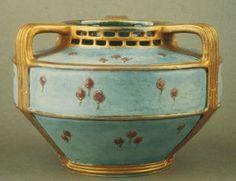 Paul Dachsel   (active 1894 - 1910)       Vase   ca. 1908   20th c   Porcelain