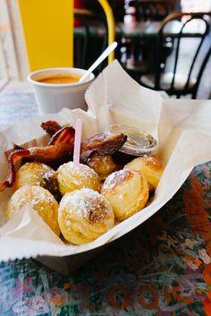 The best breakfast in Columbus, Ohio, Katalina's Restaurant pancake balls. Breakfast Cafe, Breakfast Restaurants, Best Breakfast, Pancake Restaurant, Breakfast Buffet, Food Places, Best Places To Eat, Columbus Ohio Restaurants, Best Korean Food