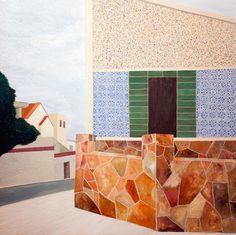 Vernaculo, 2011-12 · oil on canvas · 133 × 133cm ·Gustavo Saiani