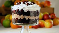 Do you have a pretty punch bowl or trifle bowl that's just sitting around in the cupboard most of the year?