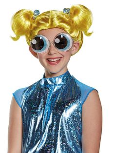 Check out Powerpuff Girls Bubbles Wig - Costume Accessories for 2018 | Wholesale Halloween Costumes from Wholesale Halloween Costumes