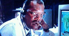 Why Samuel L. Jackson's Jurassic Park Death Isn't Seen on Screen -- Samuel L. Jackson reveals that his Jurassic Park character was supposed to die in full view of the audience. -- http://movieweb.com/jurassic-park-samuel-l-jackson-original-death-scene/