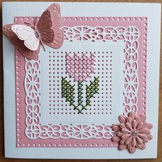 Tiny Cross Stitch, Cross Stitch Cards, Beaded Cross Stitch, Cross Stitch Designs, Cross Stitch Embroidery, Cross Stitch Patterns, Stitching On Paper, Cross Stitching, Embroidery Cards
