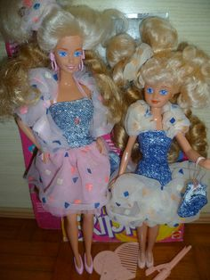 1988 Super Style Barbie & Skipper (Europe) by Patty Is Totally Addicted To Barbie, via Flickr