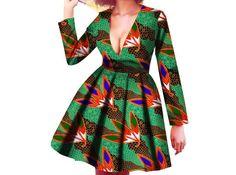 Robe de robe de mode africaine robe africaine robe dété
