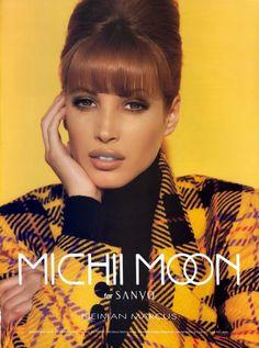 Christy Turlington For Michi Moon